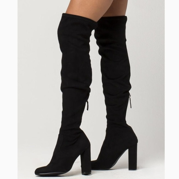 1d1cd47e4ce STEVE MADDEN Emotions Over The Knee Boot. M 5b52a3890945e09ad8f7c32a